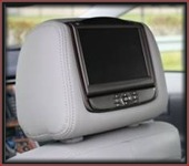 Slim Line Dual Headrest DVD Player