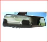 Auto-Dimming Rearview Mirror with Homelink