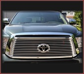 Tundra Polished Stainless Steel Grille Set
