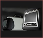 Headrest DVD Monitor Set
